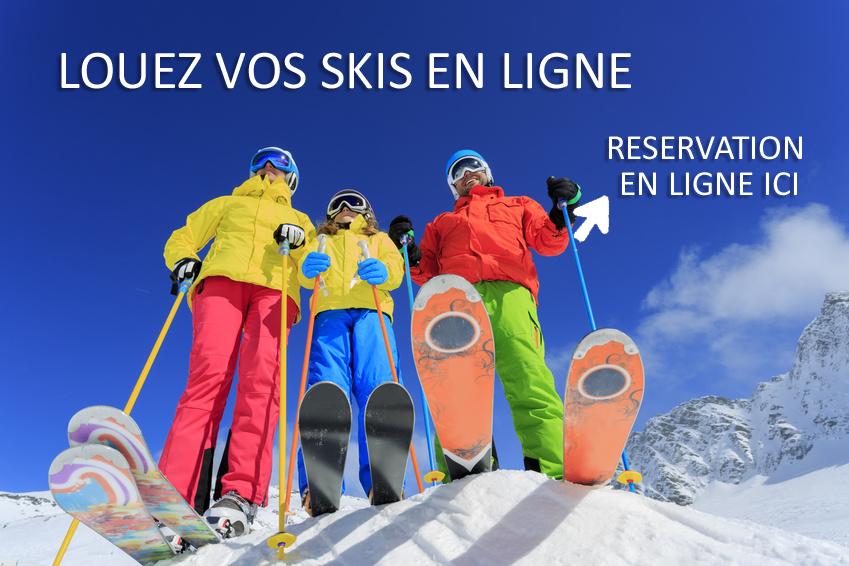 Location de ski en ligne Vallouise
